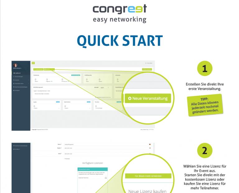 Quick Start - congreet Event Software